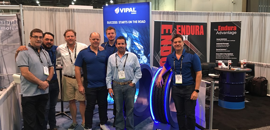Vipal Rubber Participates in WasteExpo in Las Vegasipal at WasteExpo